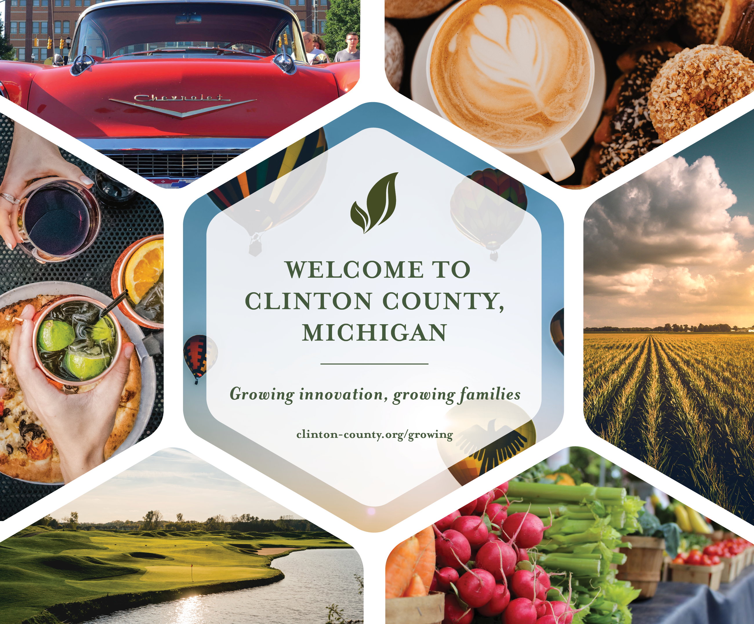 Welcome to Clinton County Collage of Images