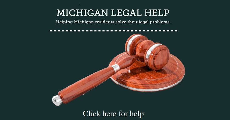 Michigan Legal Help Graphic Click Here