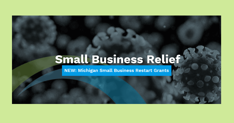LEAP Small Business Relief Grants Graphic