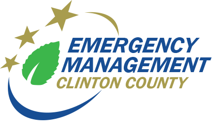 Clinton Clinton County Office of Emergency Management Logo