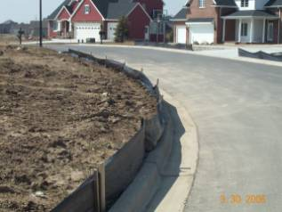 Example of Soil Erosion Control